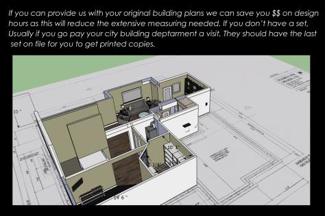 basement 3d with plans