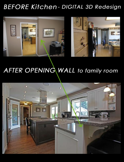 Aldergrove Kitchen Before and After
